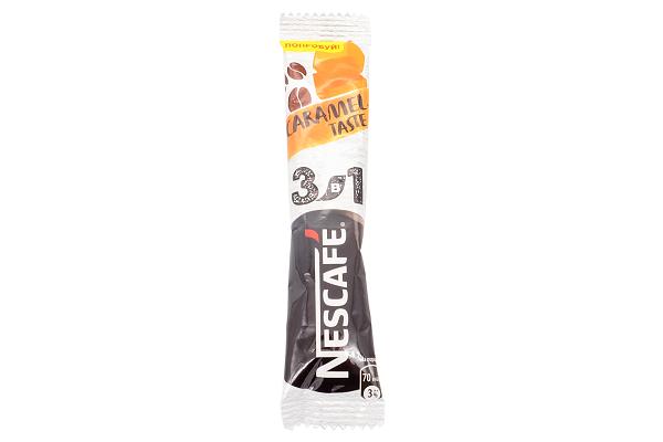 Кофе Нескафе 3в1 карамель 14,5г