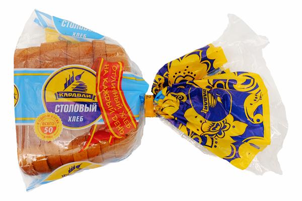 Хлеб Столовый рж.-пшен. 180г Каравай