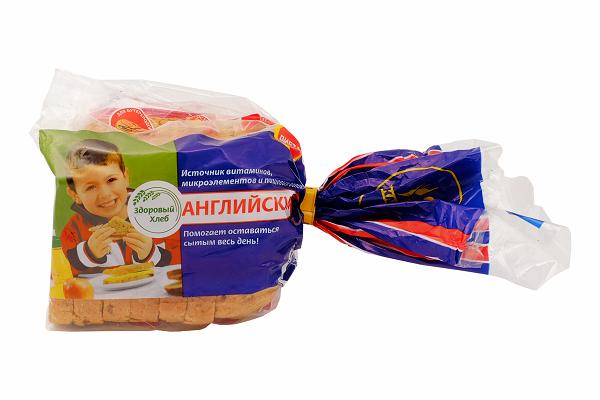 Хлеб Английский диет.  200г рез.  Каравай