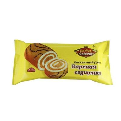 Рулет Фаворит Варёная сгущенка 150г