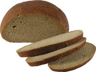 Хлеб Ржаной подовый (половинка)  Каравай