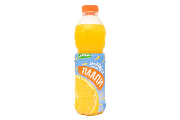 Напиток Добрый Палпи апельсин 0,9л ПЭТ