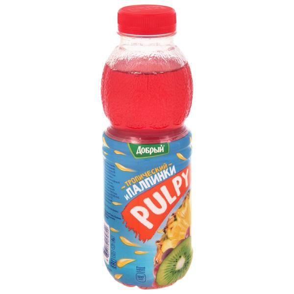 Напиток Добрый Палпи тропик 0,45л ПЭТ