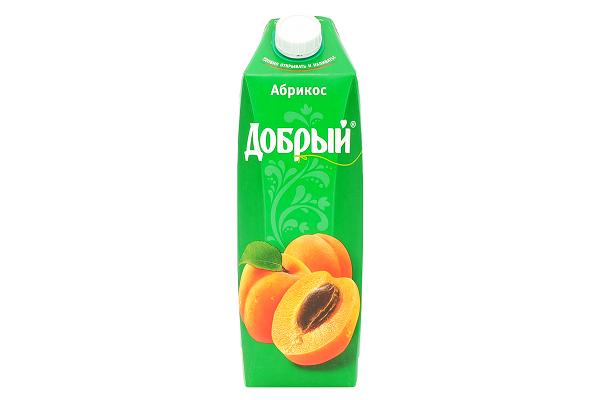 Нектар Добрый абрикос 1л