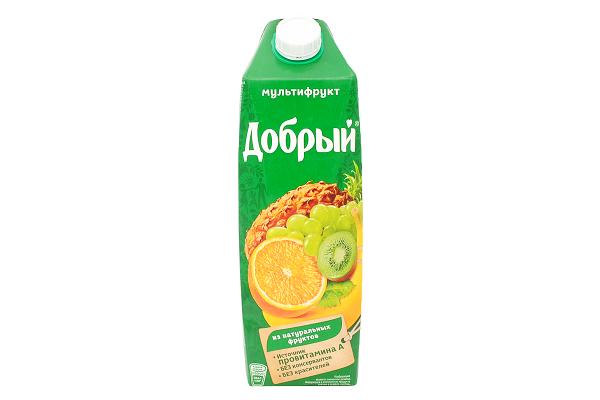 Нектар Добрый мультифрут 1л