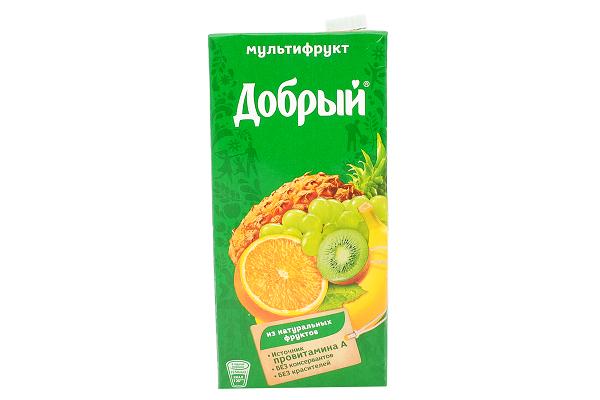 Нектар Добрый мультифрут 2л