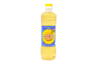 Масло Золотая Семечка подсолн. раф. 0,5л