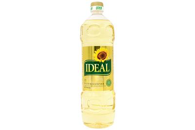 Масло Идеал подсолнечное 1л