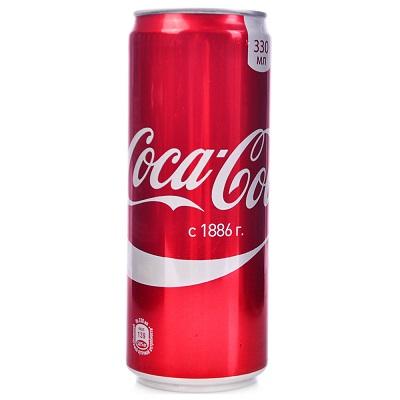 Напиток Кока-Кола 0,33л ж/б