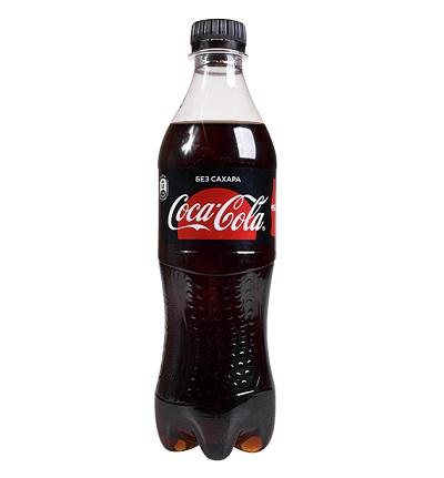 Напиток Кока-Кола Зеро 0,5л ПЭТ