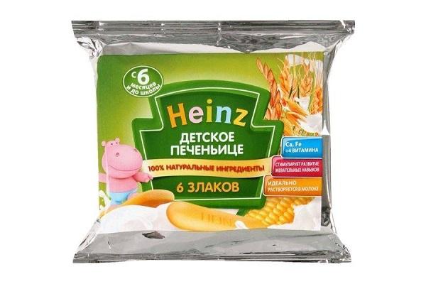 Печенье Хайнц детское 6 злаков 60г