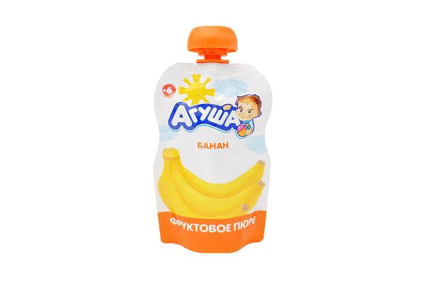 Пюре Агуша банан 90г доз.