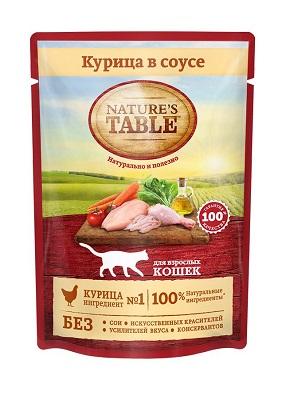 Корм Nature's Table говядина в соусе 85г