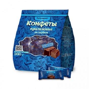 Конфеты Петродиет пралиновые на сорбите 200г