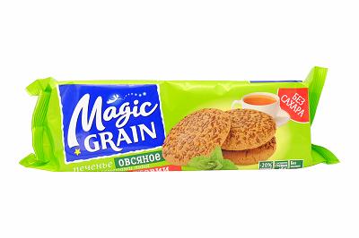 Печенье Magic Grain Овсяное лен/стевия  150г