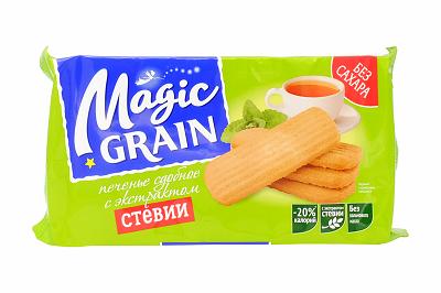 Печенье Magic Grain сдобное с экстрактом стевии 150г