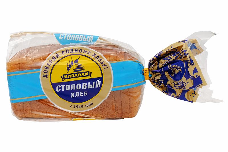 Хлеб Кар. Столовый рж.-пшен. 750г рез.
