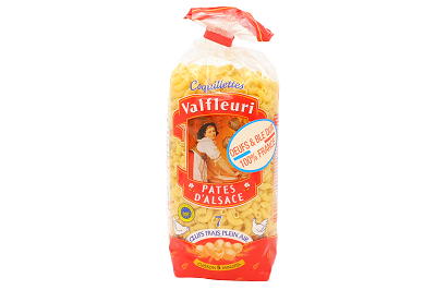Макароны Valfleuri рожки маленькие 250г