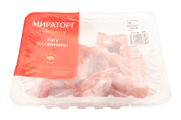 Рагу из свинины охл. 400г Мираторг