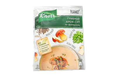 Крем-суп Кнорр Грибной по-французски 49г