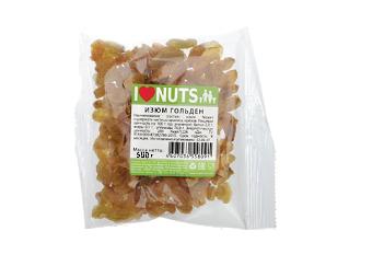 Изюм Гольден 500г I Love Nuts