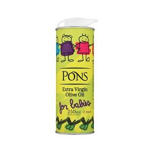 Масло PONS олив. нераф.E.V. 0,25л ж/б for babies (от 7мес.)