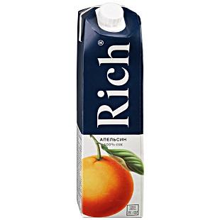 Сок Рич апельсин  1л