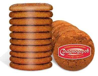 Печенье овсяное Царское Сокровище 400г термоупаковка