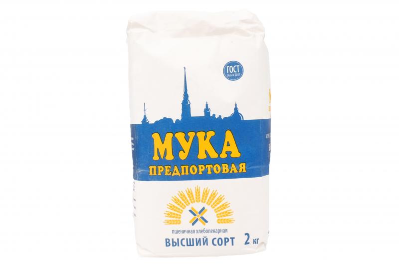 Мука Предпортовая ПМК в/с 2кг