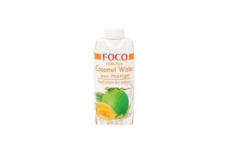 Кокосовая вода FOCO с манго 330мл Tetra Pak