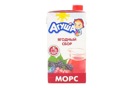 Морс Агуша ягодный сбор 0,5л
