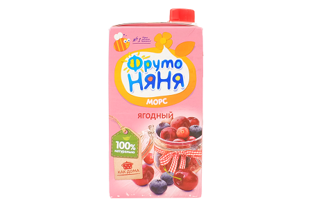 Морс Фр.Няня ягоды 0,5л