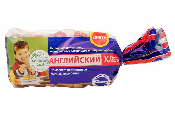 Хлеб  Английский диет. 400г нарезка Каравай