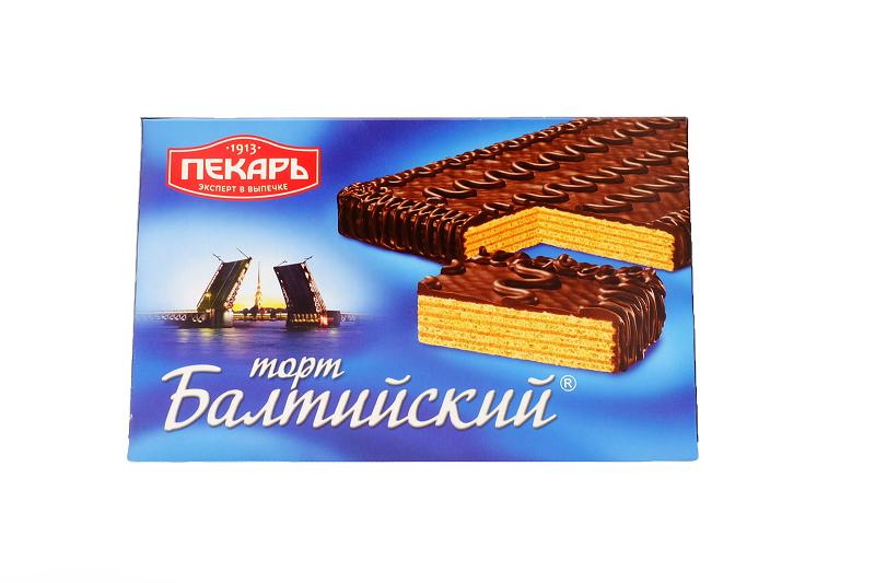 Торт Балтийский    320г Пекарь