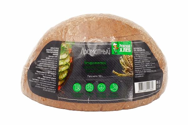 Хлеб Ароматный 300г б/дрож. Рижский хлеб