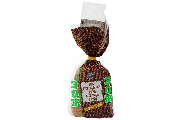 Хлеб Кар. ЗОЖ 88% зерна пшеницы и ржи 400г