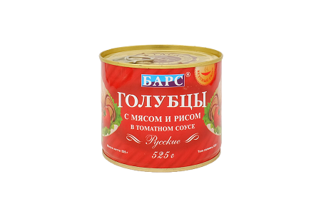 Голубцы БАРС Русские в том.соусе 525г ж/б
