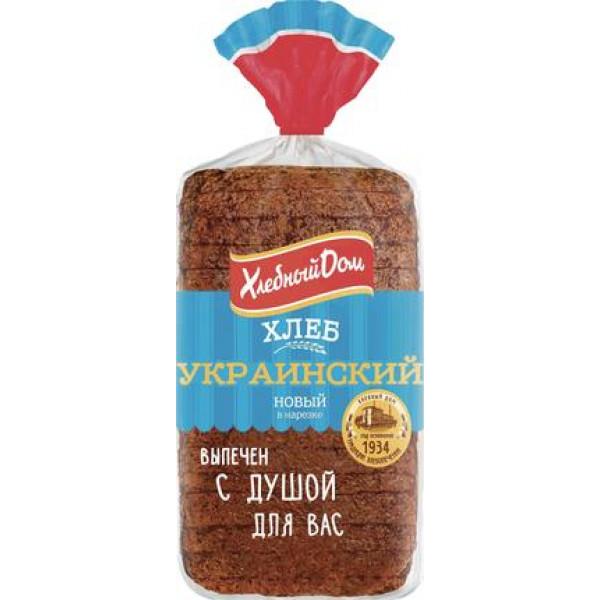 Хлеб ХД Украинский без сахара 530г рез.