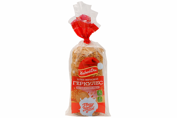 Хлеб ХД Геркулес зерновой 500г
