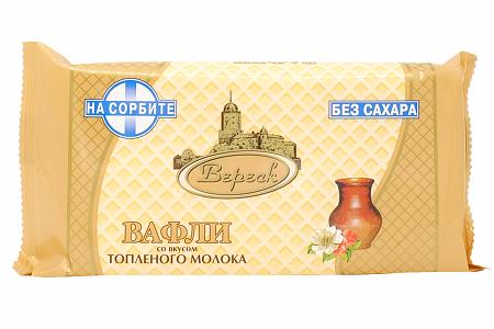 Вафли Вереск топл.мол. на сорбите 105г