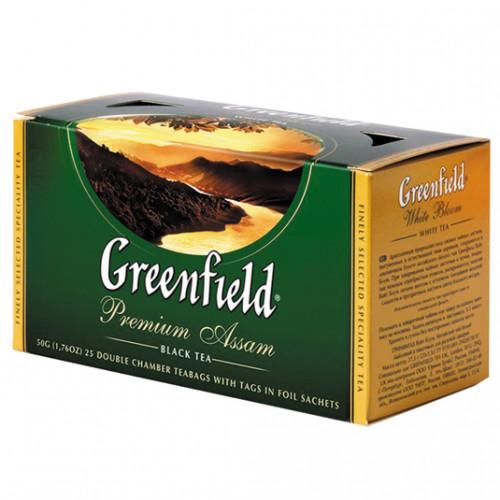 Чай Гринфилд Премиум Ассам 25пак.