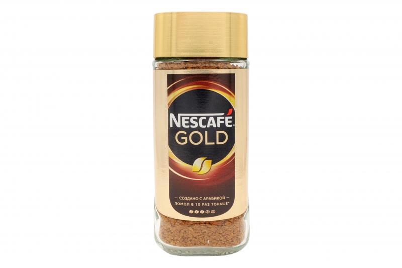 Кофе Нескафе Голд раст.95г стекло