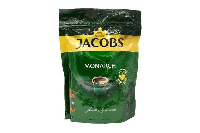 Кофе Якобс Монарх 150г пакет