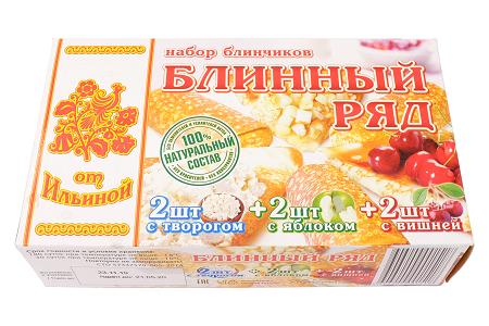 Блинчики От Ильиной Набор 2твор/2виш/2ябл 450г