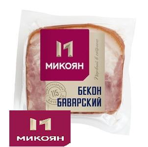 Бекон Баварский в/к 300г  Микоян