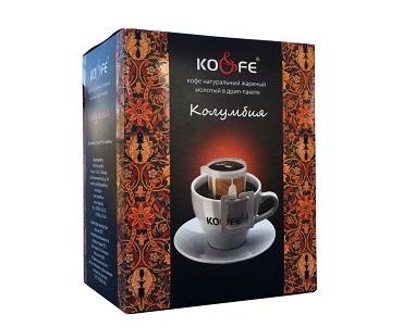 Кофе KOFE Колумбия 10пак