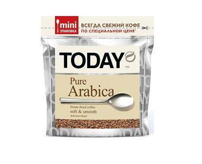 Кофе Тудэй Пур Арабика 37,5г пакет