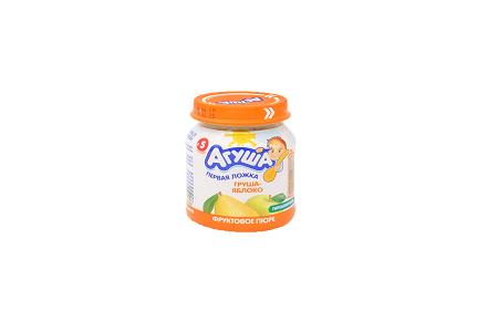 Пюре Агуша груша/яблоко 115г