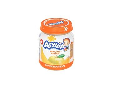 Пюре Агуша яблоко/банан  115г
