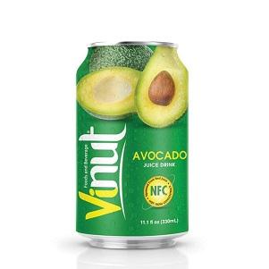 Напиток VINUT Avocado juice сокосодерж. н/г 0,33л ж/б